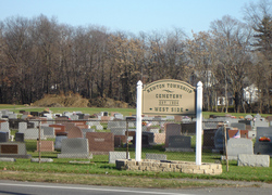 Newton Township Cemetery West Side