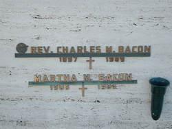 Rev Charles M. Bacon