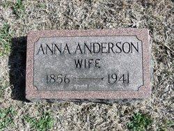 Anna <I>Jenson</I> Anderson