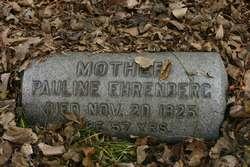 Pauline <I>Phillips</I> Ehrenberg