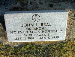 PFC John L Beal