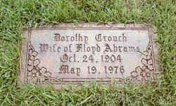Dorothy Joanna <I>Crouch</I> Abrams
