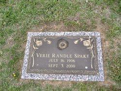 Verie <I>Randle</I> Spake