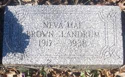 Neva Mae <I>Brown</I> Landrum