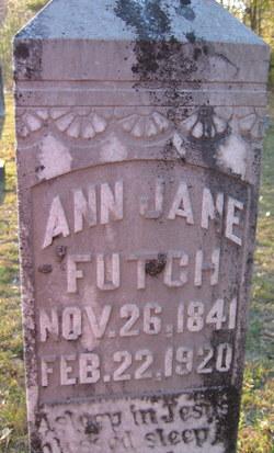 Ann Jane <I>Denmark</I> Futch