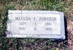 "Matilda Eleanor ""Ella"" <I>Rollison</I> Johnson"