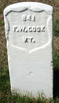 Pvt Franklin W Cook