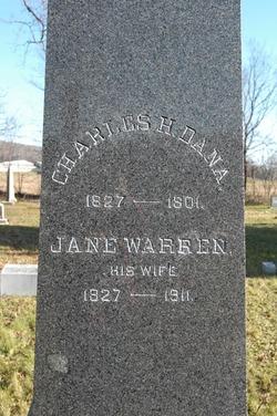 Jane <I>Warren</I> Dana