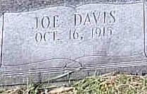 Joe Davis Cook