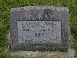 Hannah <I>Jones</I> Hubby
