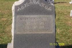 Mary Jane <I>Bruner</I> Sweet