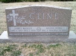Bessie Irene <I>Dunbar</I> Cline