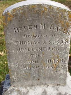 Helen M. <I>Hollenback</I> Baker