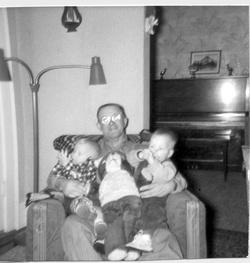 """Haren Johannes """"Grandpa Haren"""" Hendrickson"""