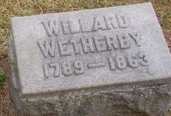 Willard W Wetherby