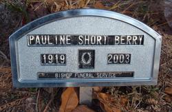 Pauline <I>Short</I> Berry