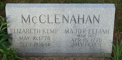 Elizabeth <I>Kemp</I> McClenahan