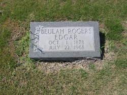 Beulah <I>Rogers</I> Edgar