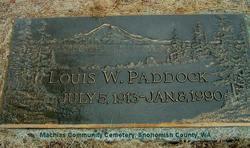 Louis William Paddock