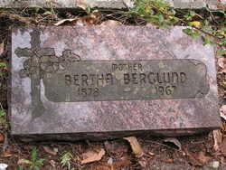 Bertha Elizabeth <I>Dunfee</I> Berglund
