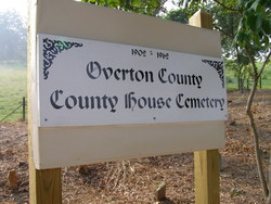 Overton County House Cemetery