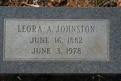 Lillian Leora <I>Allums</I> Johnston