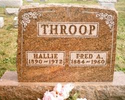 Hallie <I>Simons</I> Throop