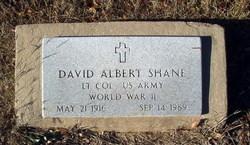 David Albert Shane