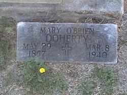Mary <I>O'Brien</I> Doherty