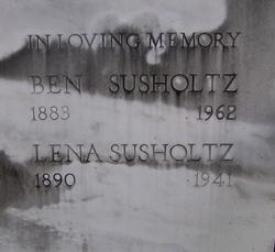 Lena <I>Kline</I> Susholtz