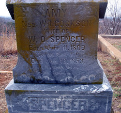 Amy <I>Wilcockson</I> Spencer