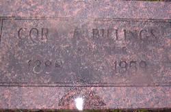 Cora Adeleine <I>Blake</I> Billings