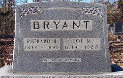 "Lucinda M. ""Lou"" <I>Mitchell</I> Bryant"