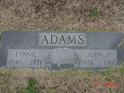 Fannie <I>Cowell</I> Adams