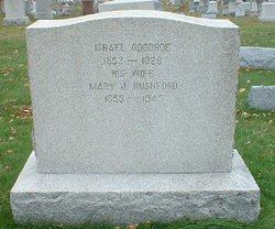 Mary J <I>Rushford</I> Goodroe