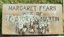 Margaret <I>Fears</I> Martin