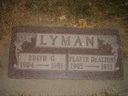 Platte De Alton Lyman