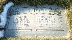 Frances Mary <I>Child</I> Linton