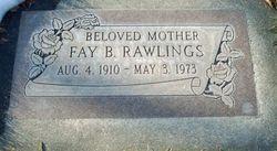 Fay <I>Bodell</I> Rawlings