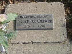 Flossie Gold <I>Gedge</I> Oliver