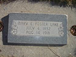 Mary Etta <I>Foster</I> Lake