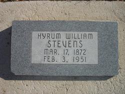 Hyrum William Stevens