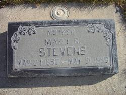 Mary Eliza <I>Rowley</I> Stevens