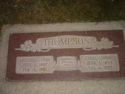 Ethel <I>Lyman</I> Thompson