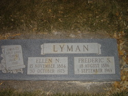 Ellen Jane <I>Nielson</I> Lyman