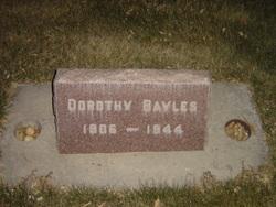 Dorothy Rose <I>Halliday</I> Bayles