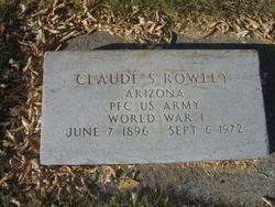 Claude Sylvester Rowley