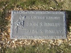 Eliza Sildona <I>Clemens</I> Rowley