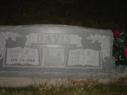 Myrtle Adlaide <I>Hunt</I> Davis