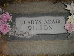 Gladys <I>Johnson</I> Wilson